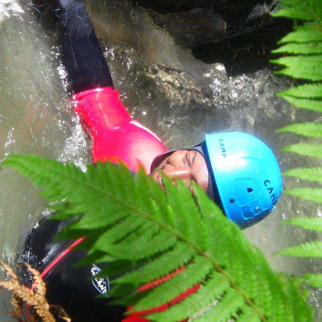 decouverte de la vegetation luxuriante dans le canyon du canceigt